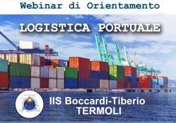 Logistica portuale: webinar d'orientamento con gli studenti dell'Istituto Nautico di Termoli (CB)