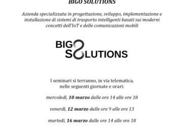 Bigosolution e ITS MO.ST: occhi puntati su sistemi di traporto intelligenti