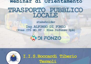 Webinar di Orientamento: Trasporto pubblico locale