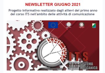 ITS Sistema Meccanica: Newsletter giugno 2021