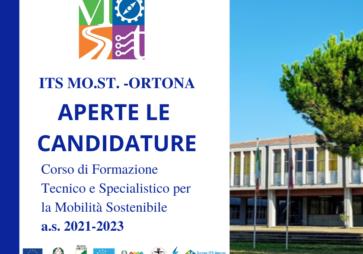 Biennio 2021/2023: aperte le Iscrizioni all'ITS MO.ST